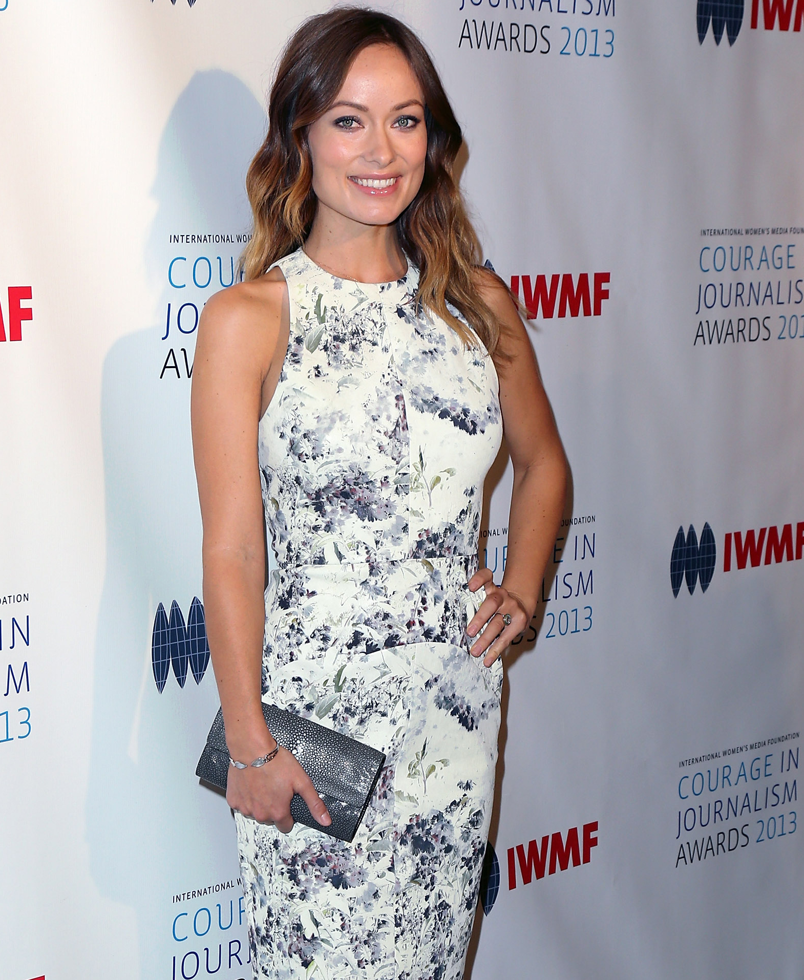 Olivia Wilde at Courage in Journalism awards (Getty Images)