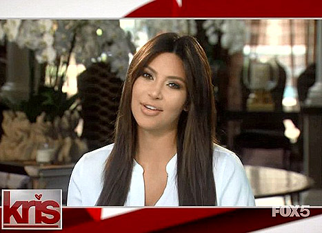 Kim Kardashian pops up on 'Kris' (Courtesy of Kris)