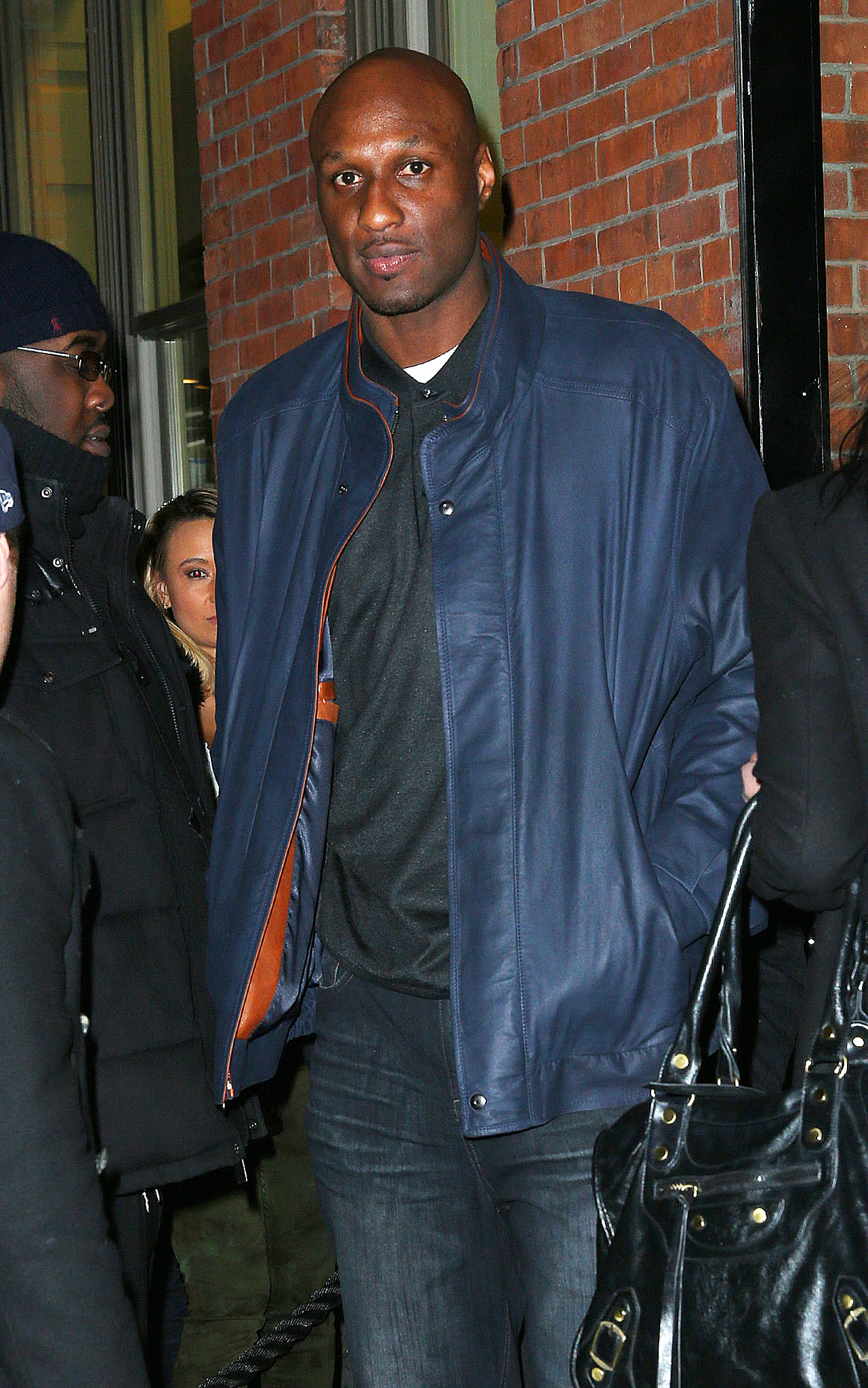 Lamar Odom has reportedly entered rehab. (Splash News)