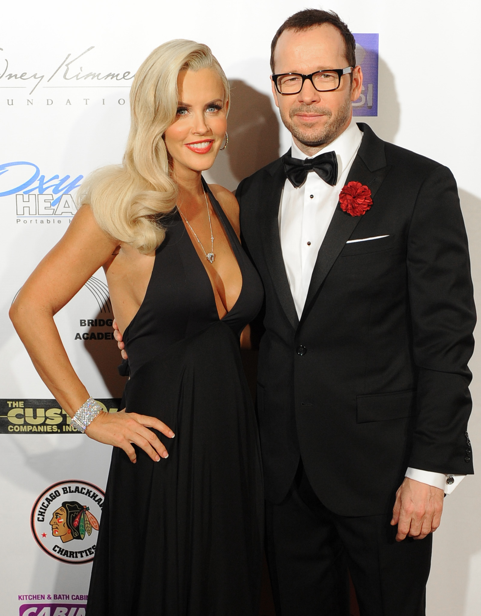 Jenny McCarthy and Donnie Wahlberg (Brian Babineau/Getty Images)