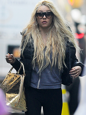 Amanda Bynes in Manhattan, April 2013 (Josiah Kamau/BuzzFoto/FilmMagic)