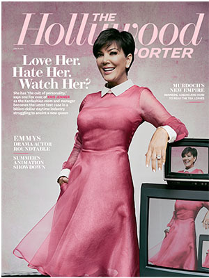 Cover girl Kris Jenner (The Hollywood Reporter)