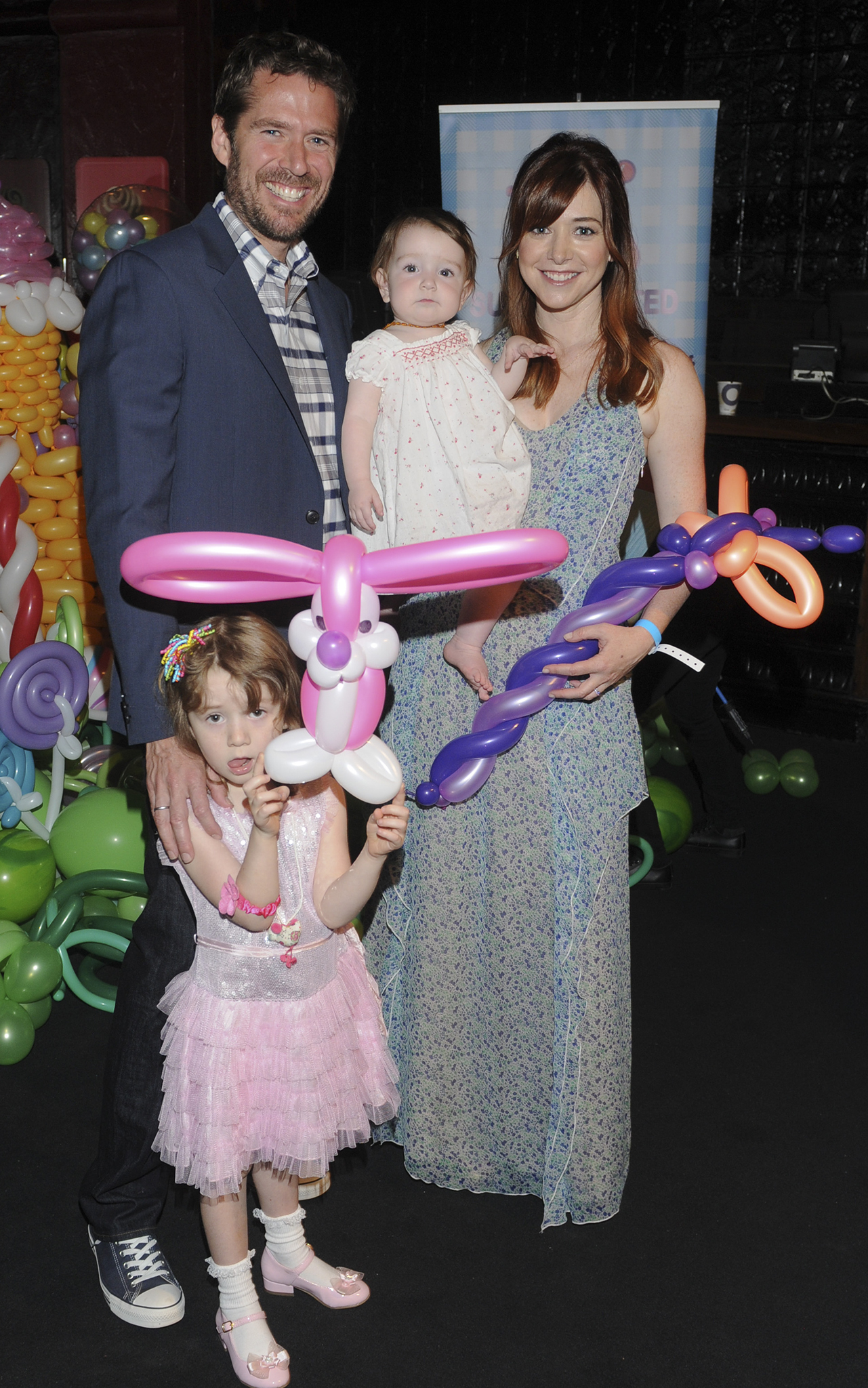 The cute family out together in June. (Getty Images)