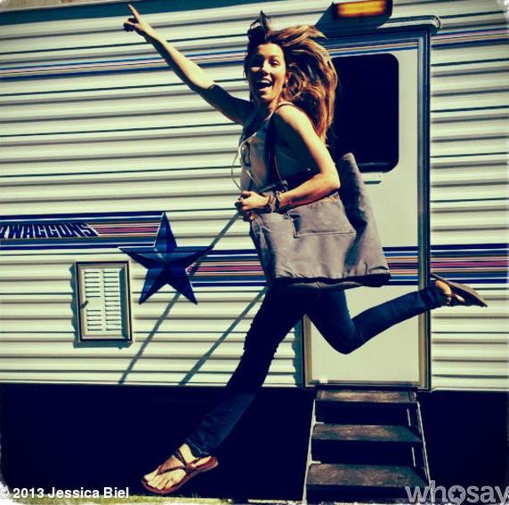 Jessica Biel Gets Into the Eco-Accessories Business ... Jessica Biel Instagram