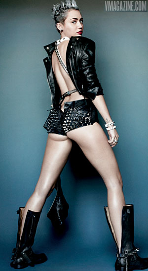 Miley Cyrus (Mario Testino for V Magazine)