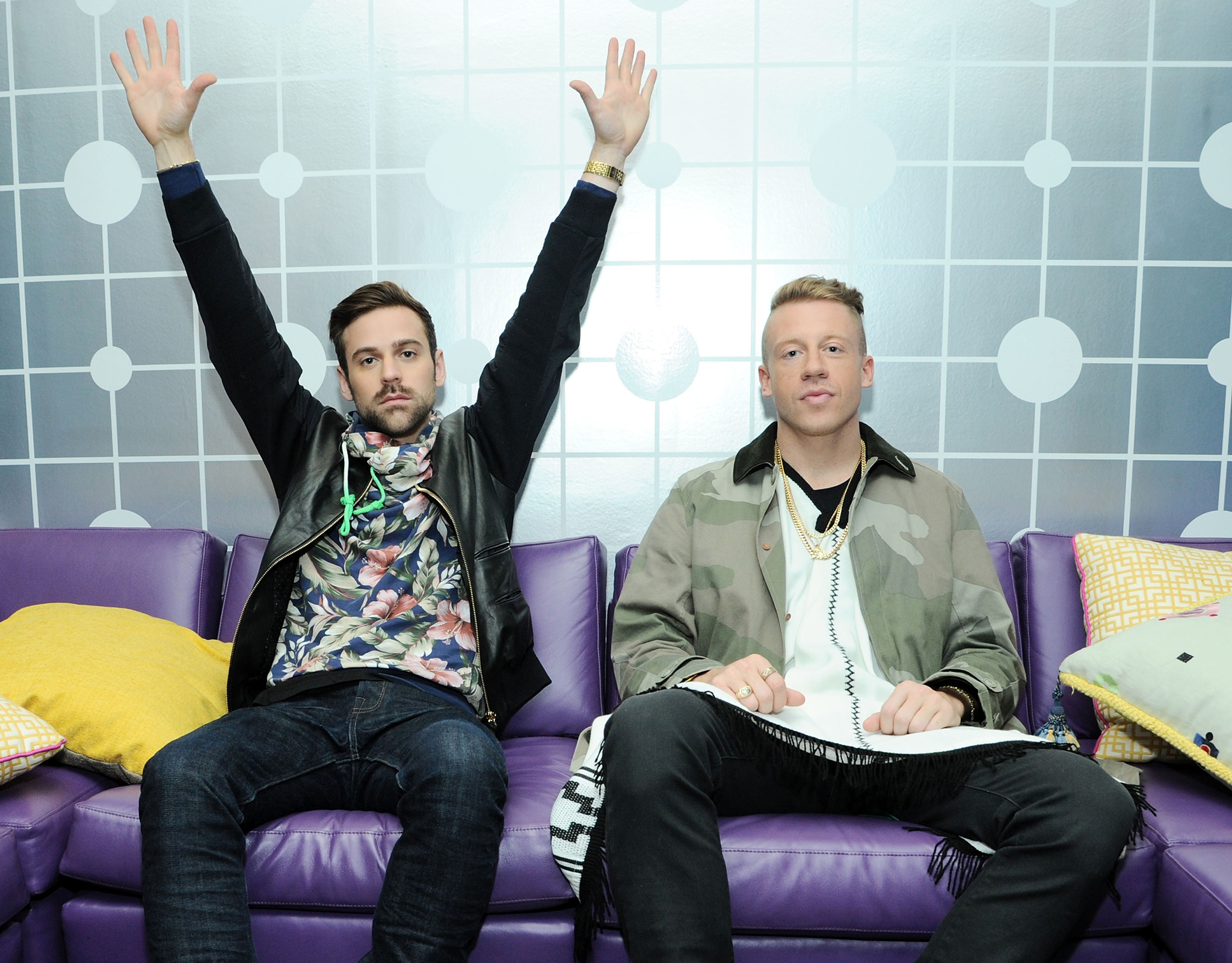 Ryan Lewis and Macklemore (Ilya S. Savenok/Getty Images)