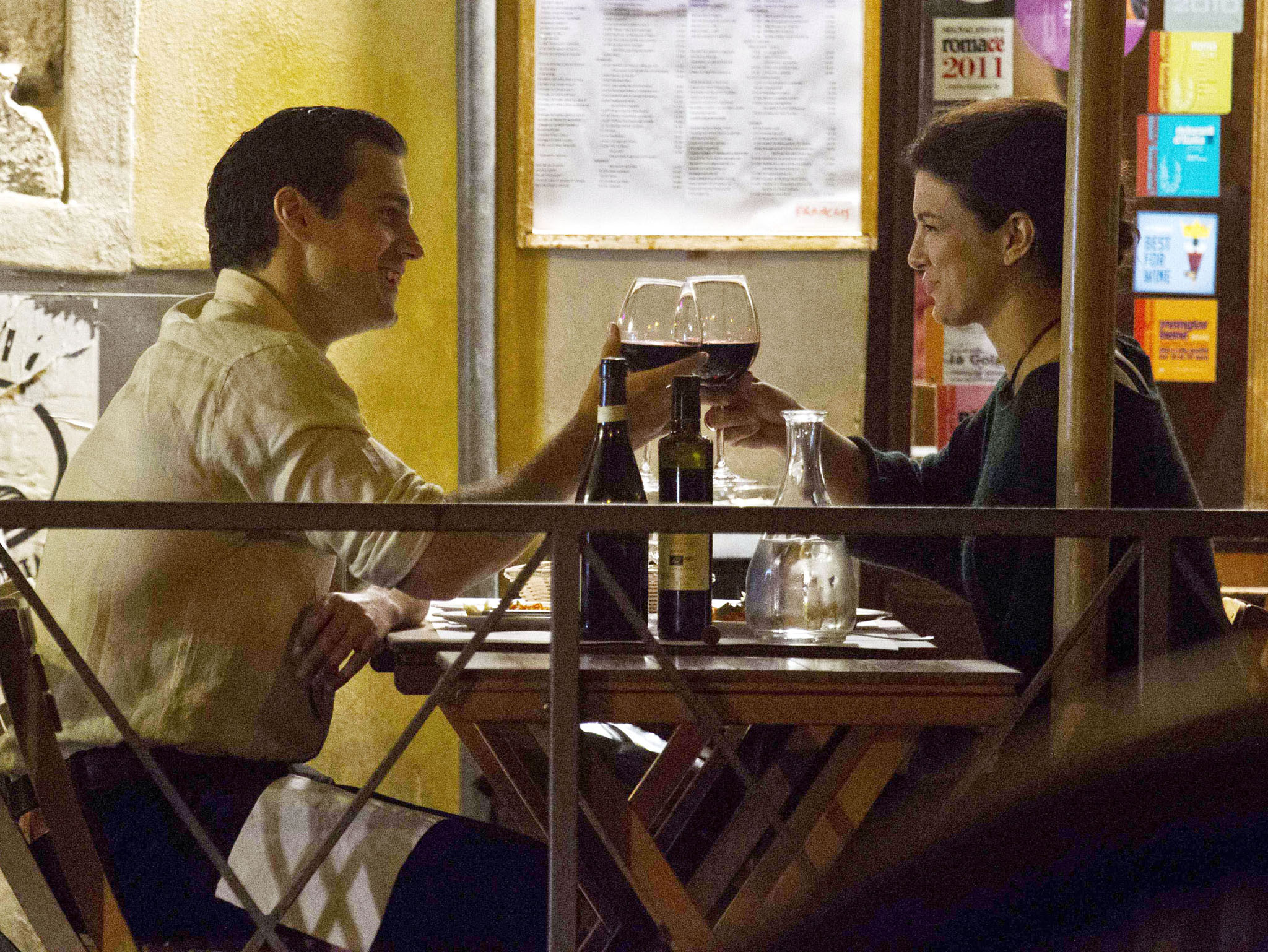 Henry Cavill and Gina Carano on October 7. (XPOSUREPHOTOS.COM)