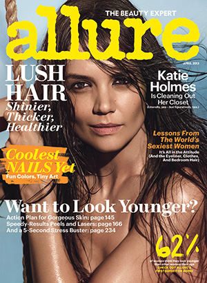 Katie Holmes' Allure Cover (Patrick Demarchelier/Allure)