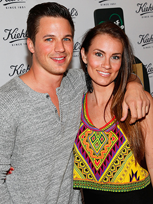 Matt Lanter and Angela Stacy (Getty Images)