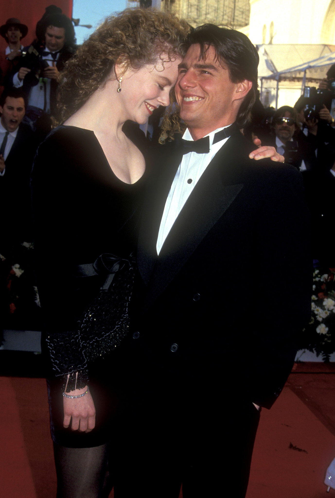 Kidman and Cruise in 1991 (Getty Images)