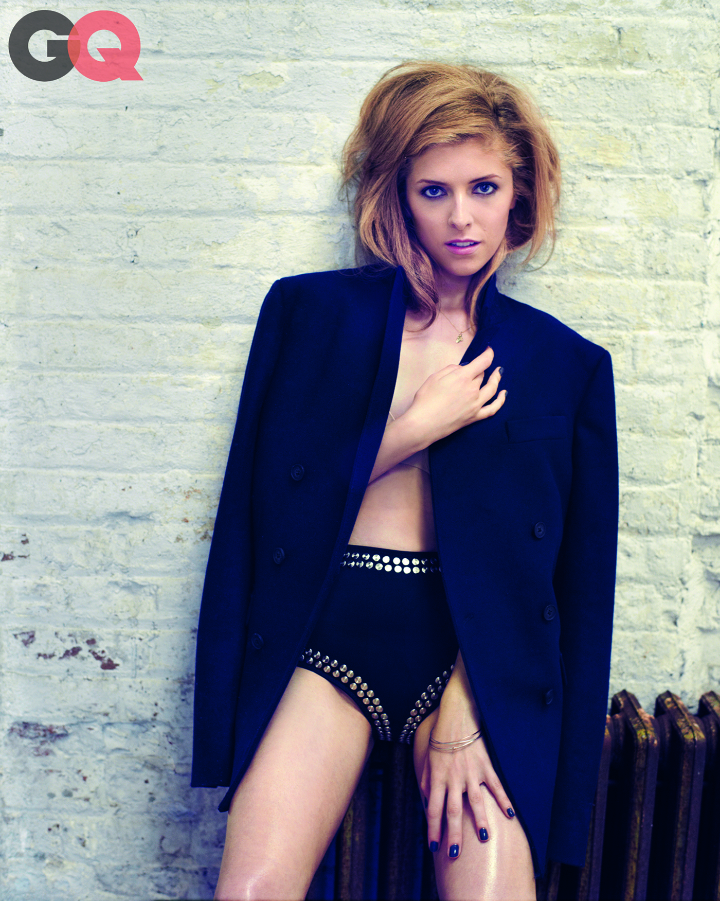 Anna Kendrick (Marc Hom / GQ. The feature appears in GQ's September issue)