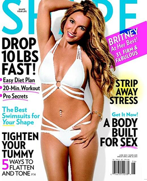 Britney Spears (Shape/Twitter)