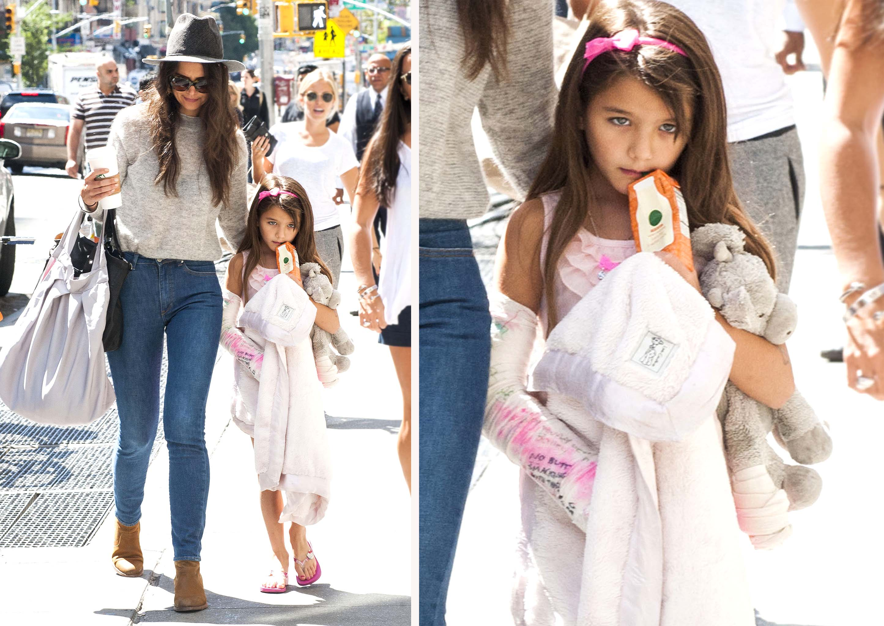 Katie Holmes and Suri Cruise (Splash News)