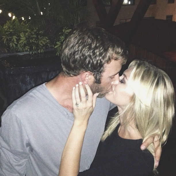 Paulina Gretzky and Dustin Johnson are engaged. (Instagram)