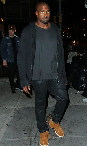 Kanye West, June 2013 (Splash News)
