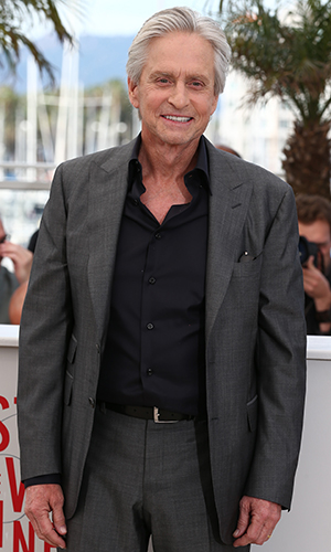 Michael Douglas at the Cannes Film Festival in May (Getty Images)
