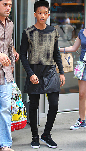 Jaden Smith in New York (Splash News)