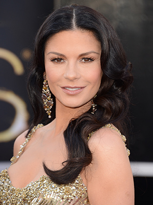 Catherine Zeta-Jones at the 2013 Oscars (Getty Images)