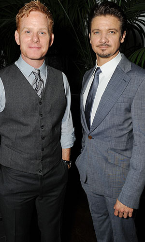 Kristoffer Winters and Jeremy Renner (WireImage)