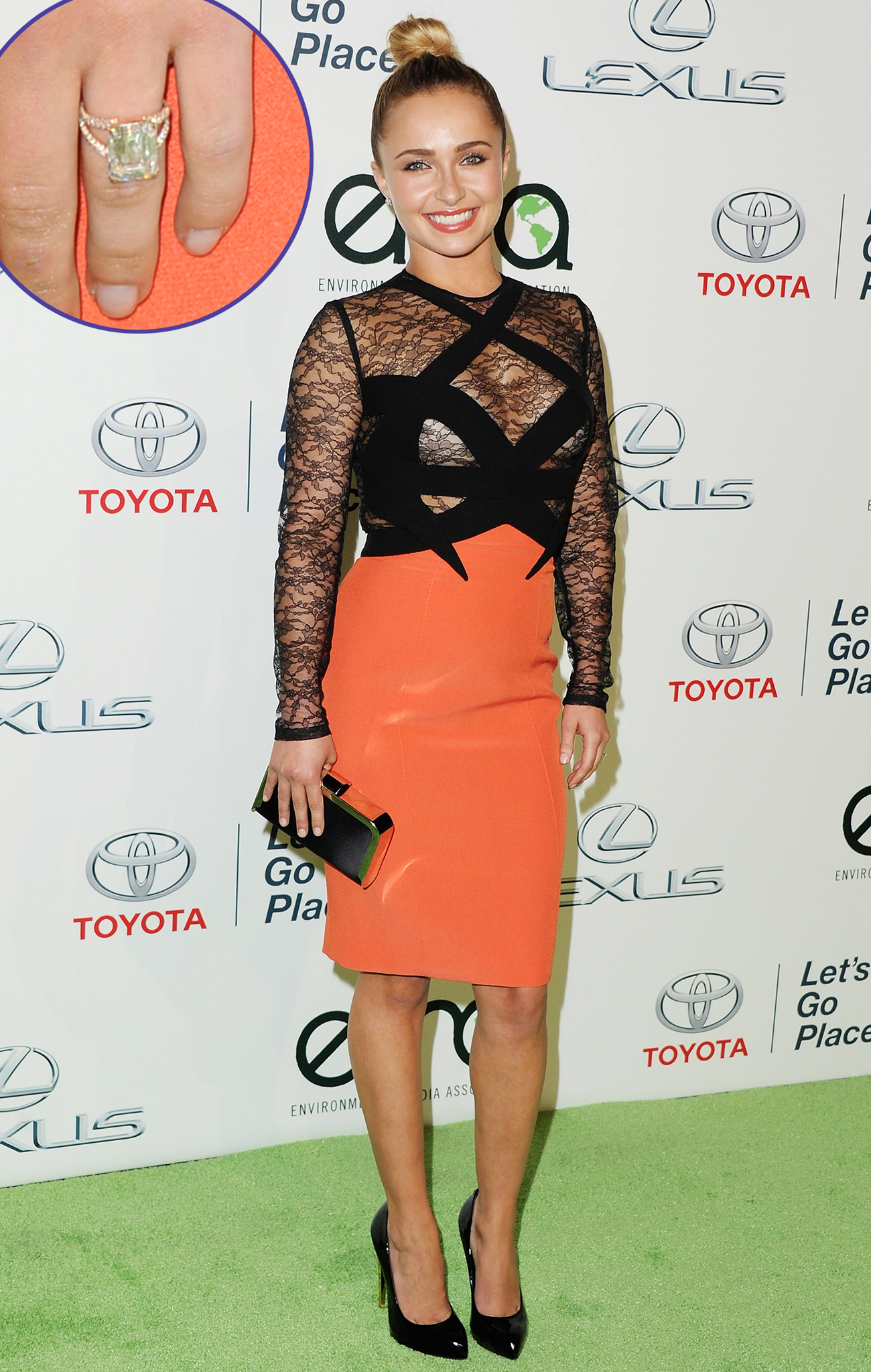 Hayden Panettiere Dons Daring Dress, Designed Her Own Engagement Ring