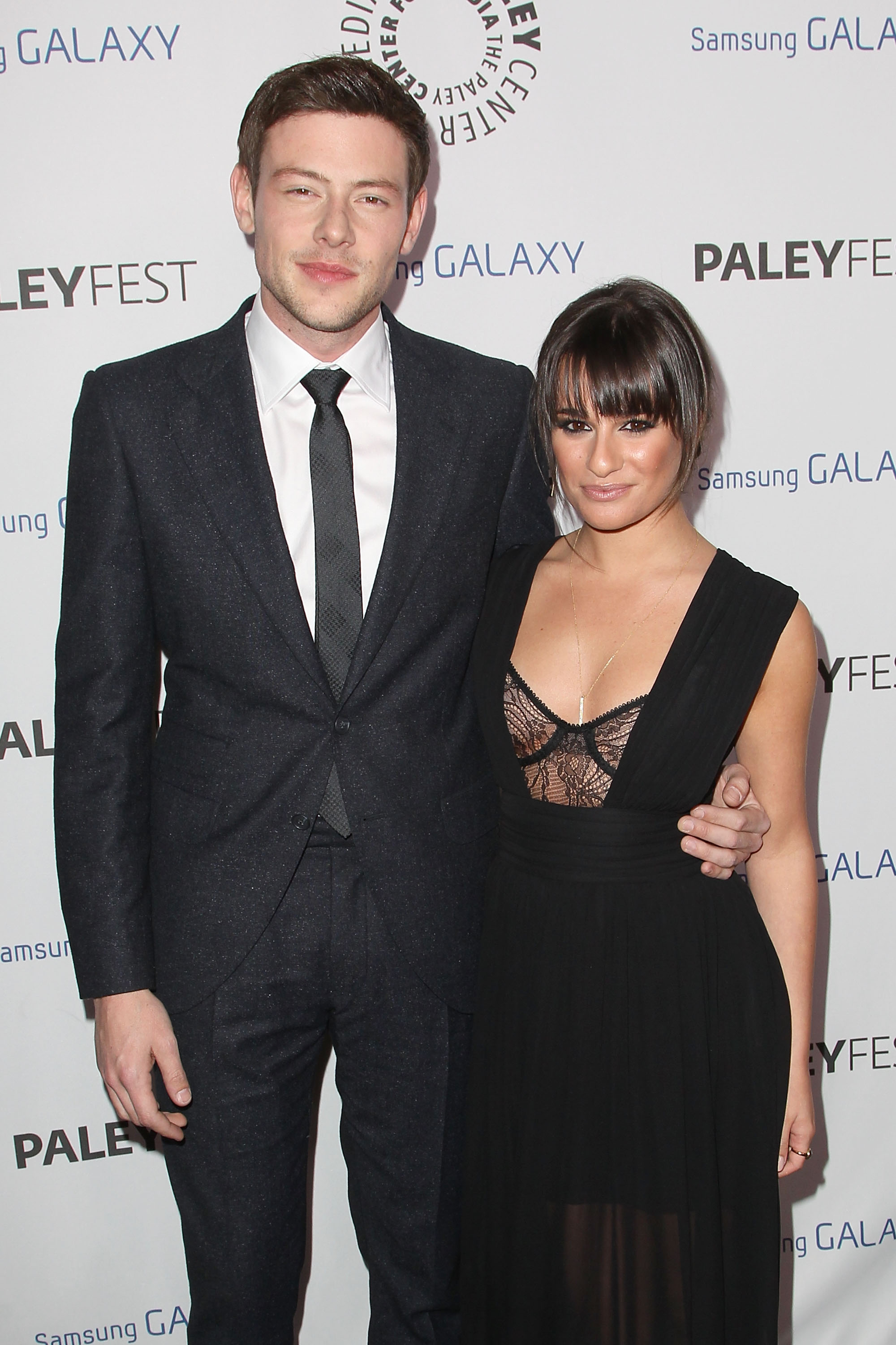 Cory Monteith and Lea Michele (WireImage)