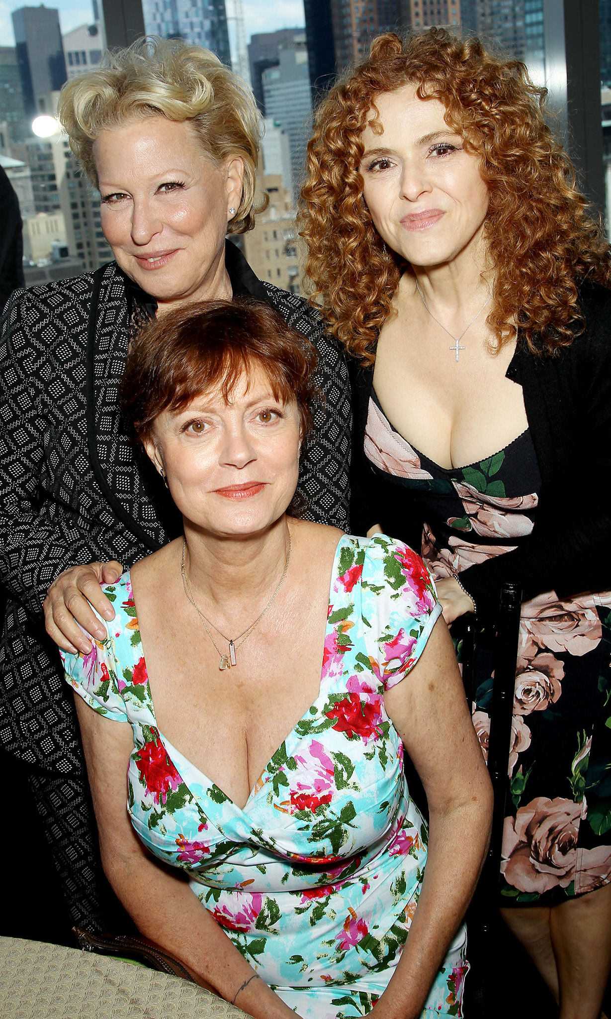 Midler, Sarandon, and Peters (Startraks Photo)