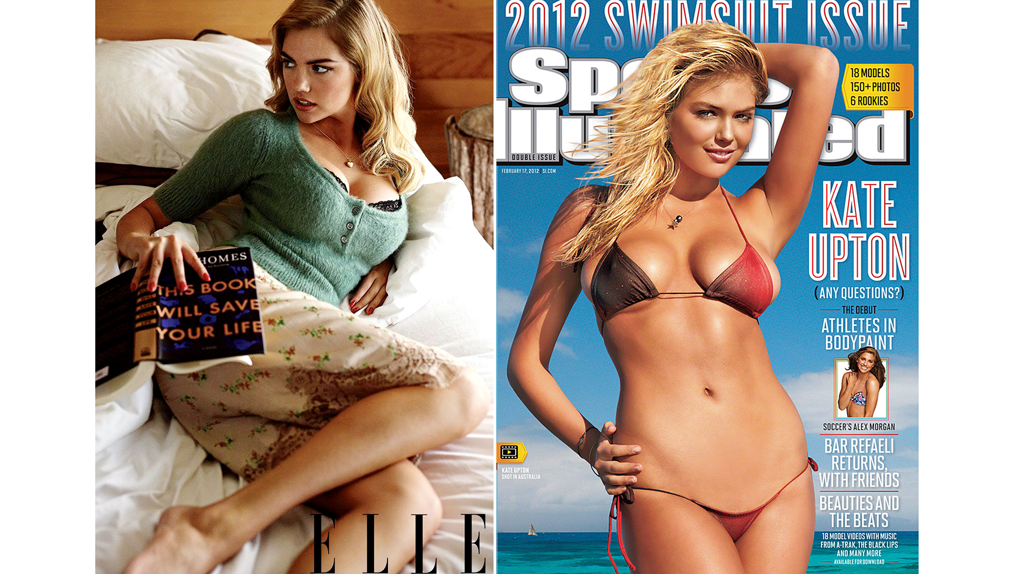 Kate Upton (Carter Smith/Elle and Sports Illustrated)