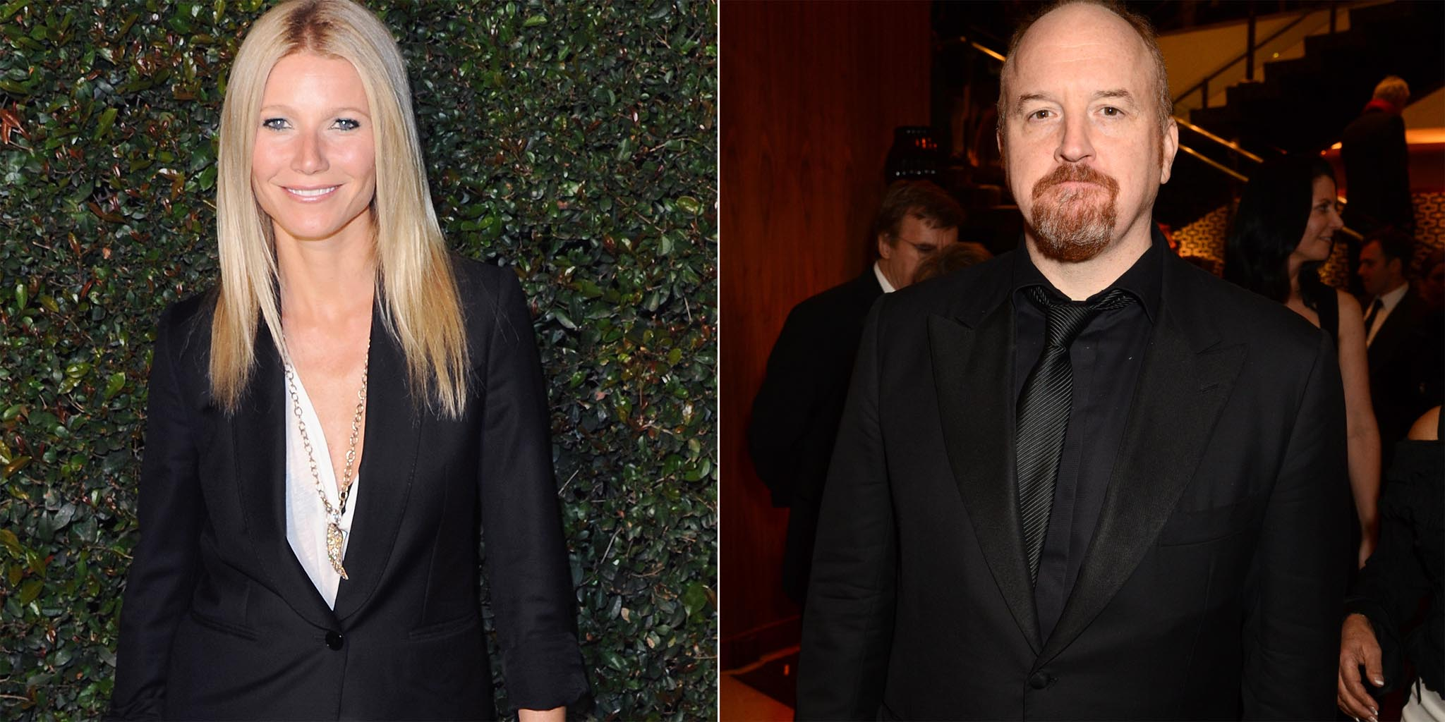 Gwyneth Paltrow and Louis C.K. (FilmMagic/Getty Images)