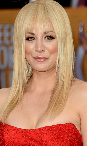 And the bangs she wore at the SAG Awards. (WireImage)