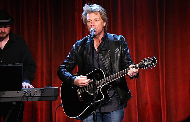 Jon Bon Jovi performs at the Can Do Awards (Getty Images)