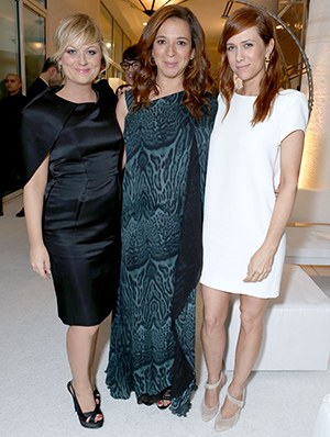 Amy Poehler, Maya Rudolph and Kristen Wiig (Getty Images)