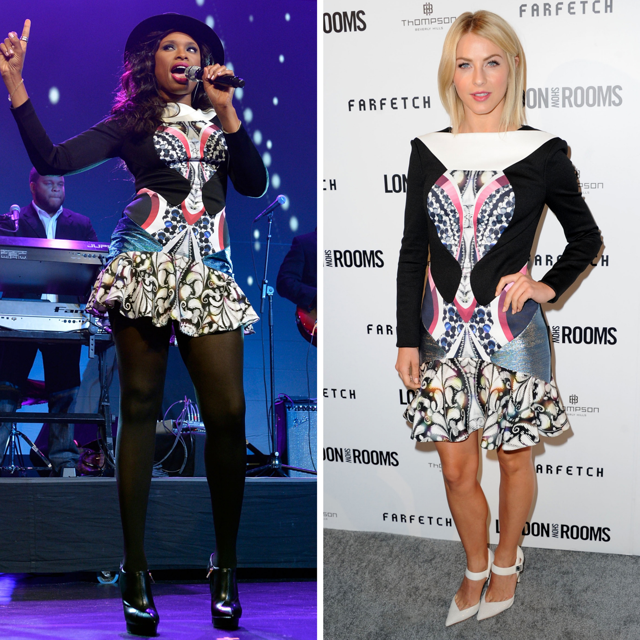 Jennifer Hudson vs. Julianne Hough (Getty Image)