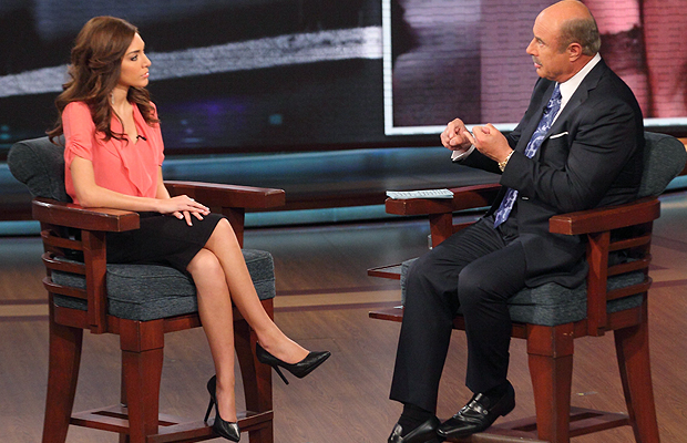 Farrah Abraham on 'Dr. Phil' (CBS Television Distribution/Peteski Productions)