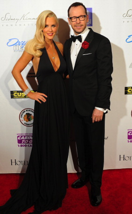 Jenny McCarthy and Donnie Wahlberg (Getty Images)