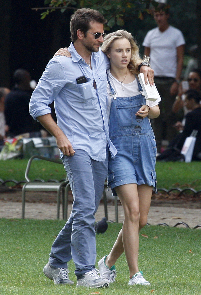 Bradley Cooper and Suki Waterhouse (PacificCoastNews.com)