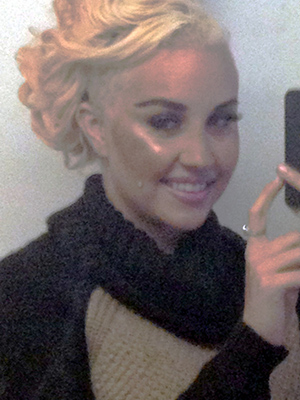 Amanda Bynes shows off her new 'do (Amanda Bynes/TwitPic)
