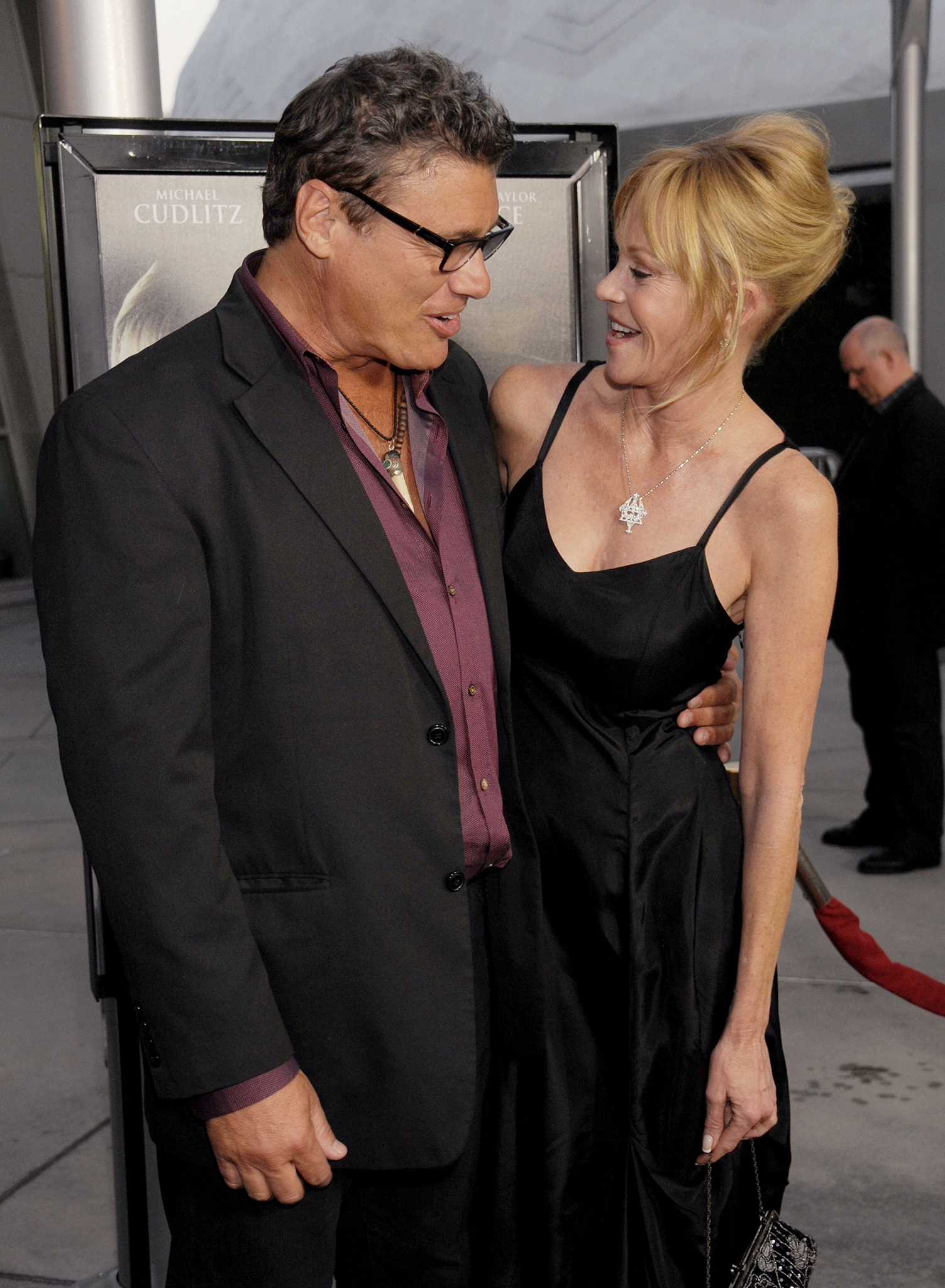 Steven Bauer and Melanie Griffith (Getty Images)