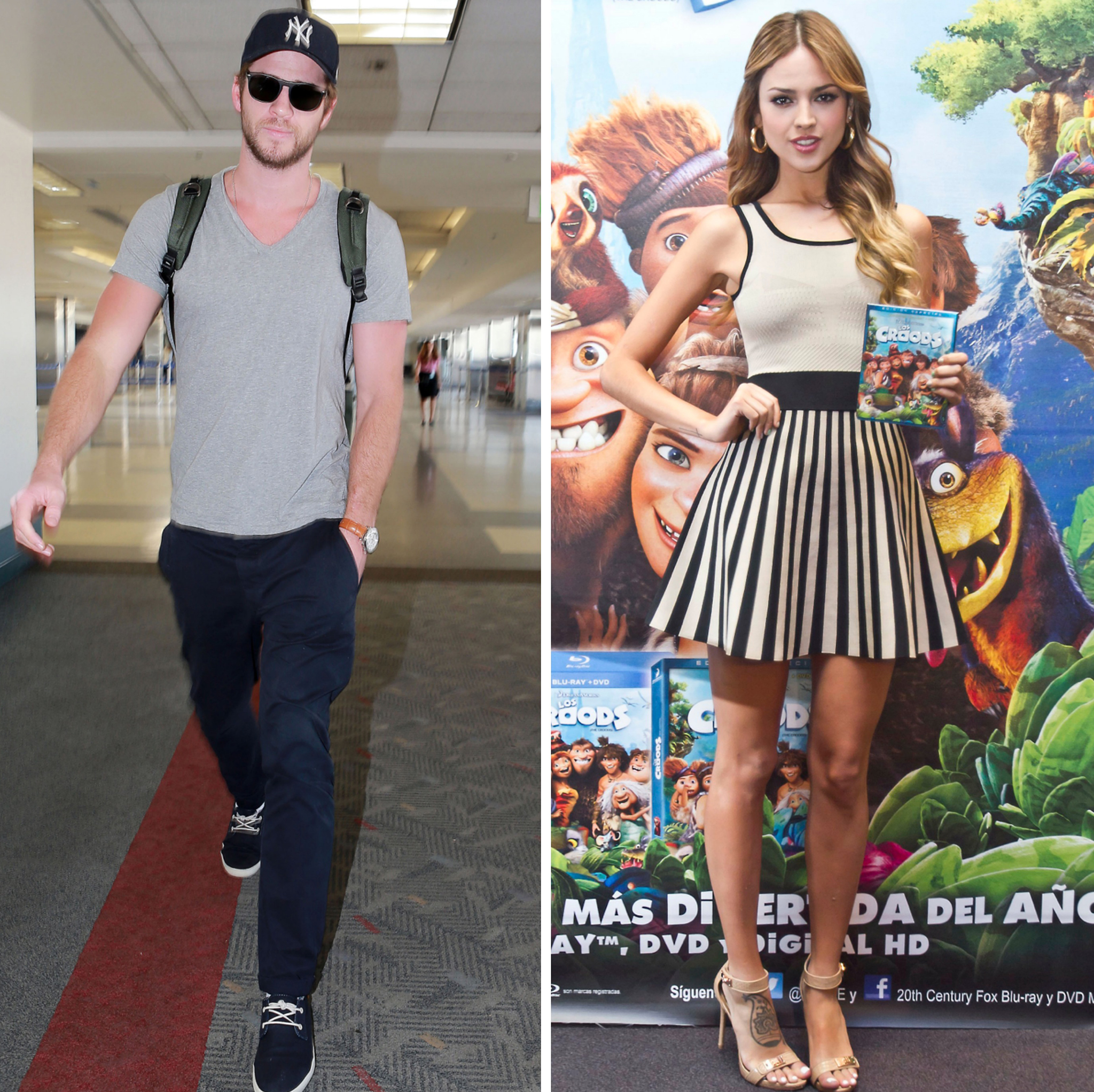 Liam heads to Atlanta, Eiza in Mexico City (FameFlynet/Getty Images)