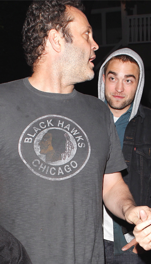 Vince Vaughn and Robert Pattinson (X17online.com)