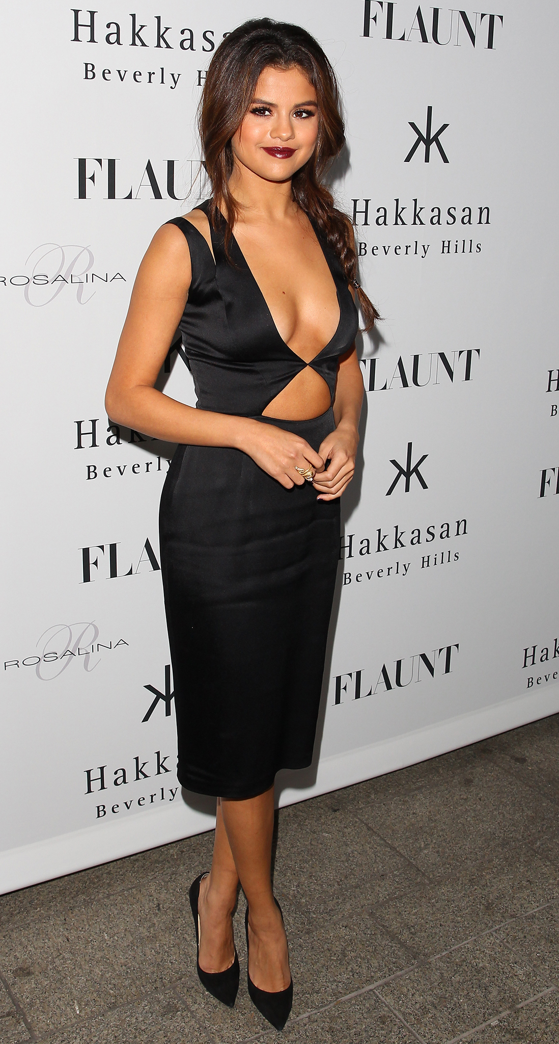 Selena Gomez at the Flaunt magazine party (Wireimage)