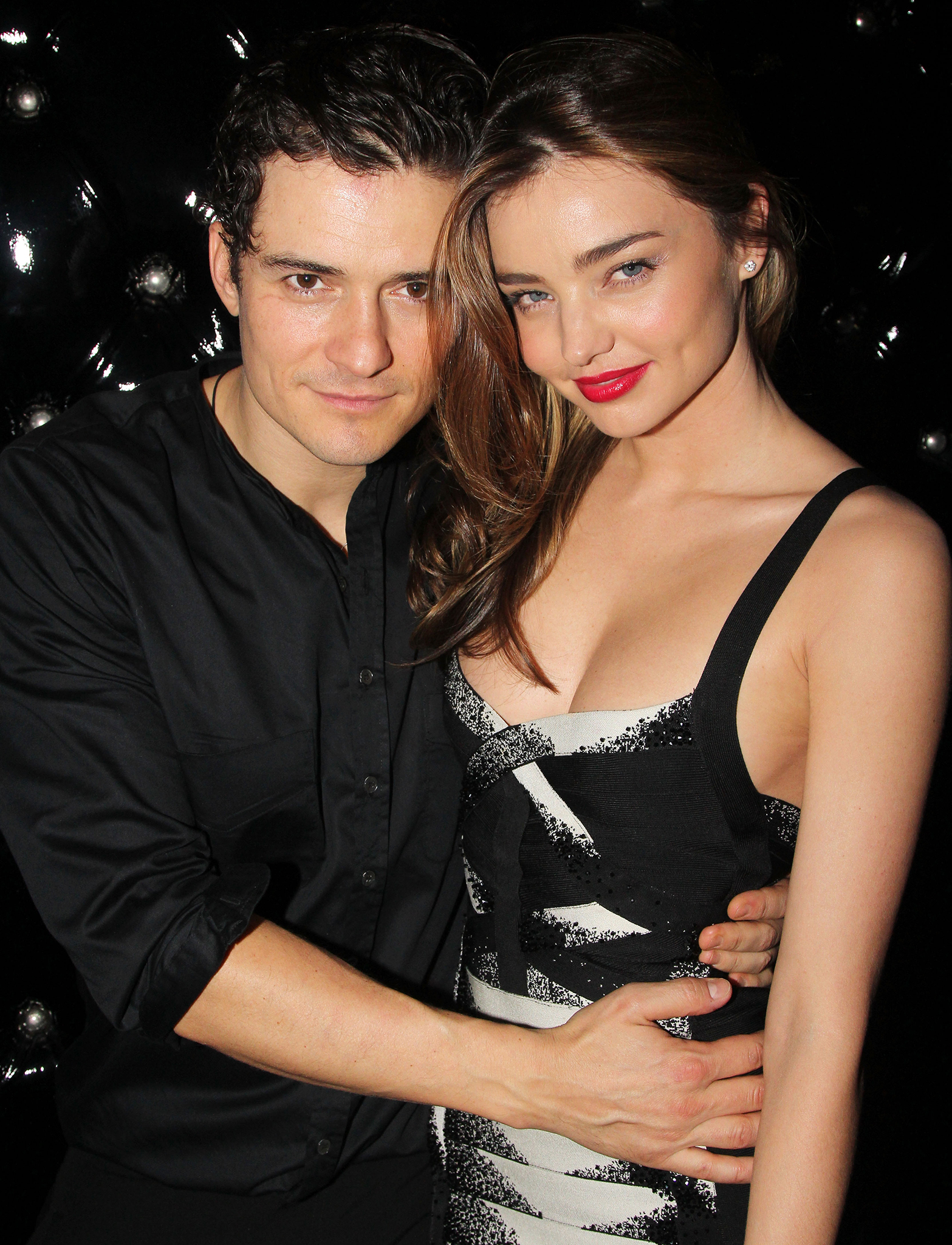 Orlando Bloom and Miranda Kerr on September 19. (Getty Images)