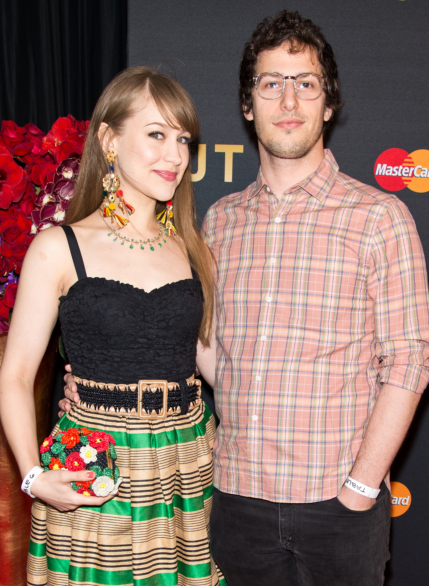 Andy Samberg and Joanna Newsom (Jeff Vespa/WireImage)