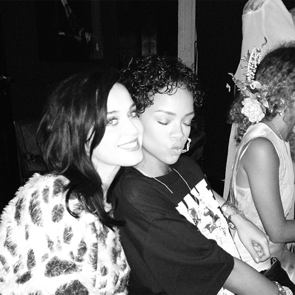 Rihanna and Katy Perry hang together in NYC (Instagram)