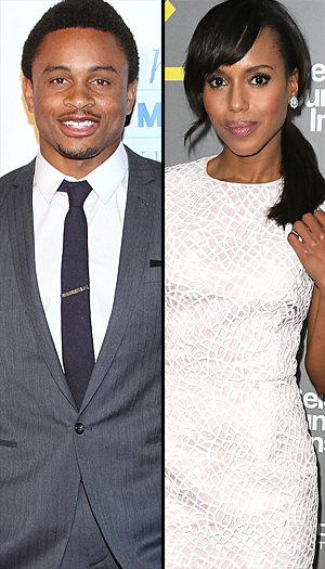 Nnamdi Asomugha and Kerry Washington (WireImage)