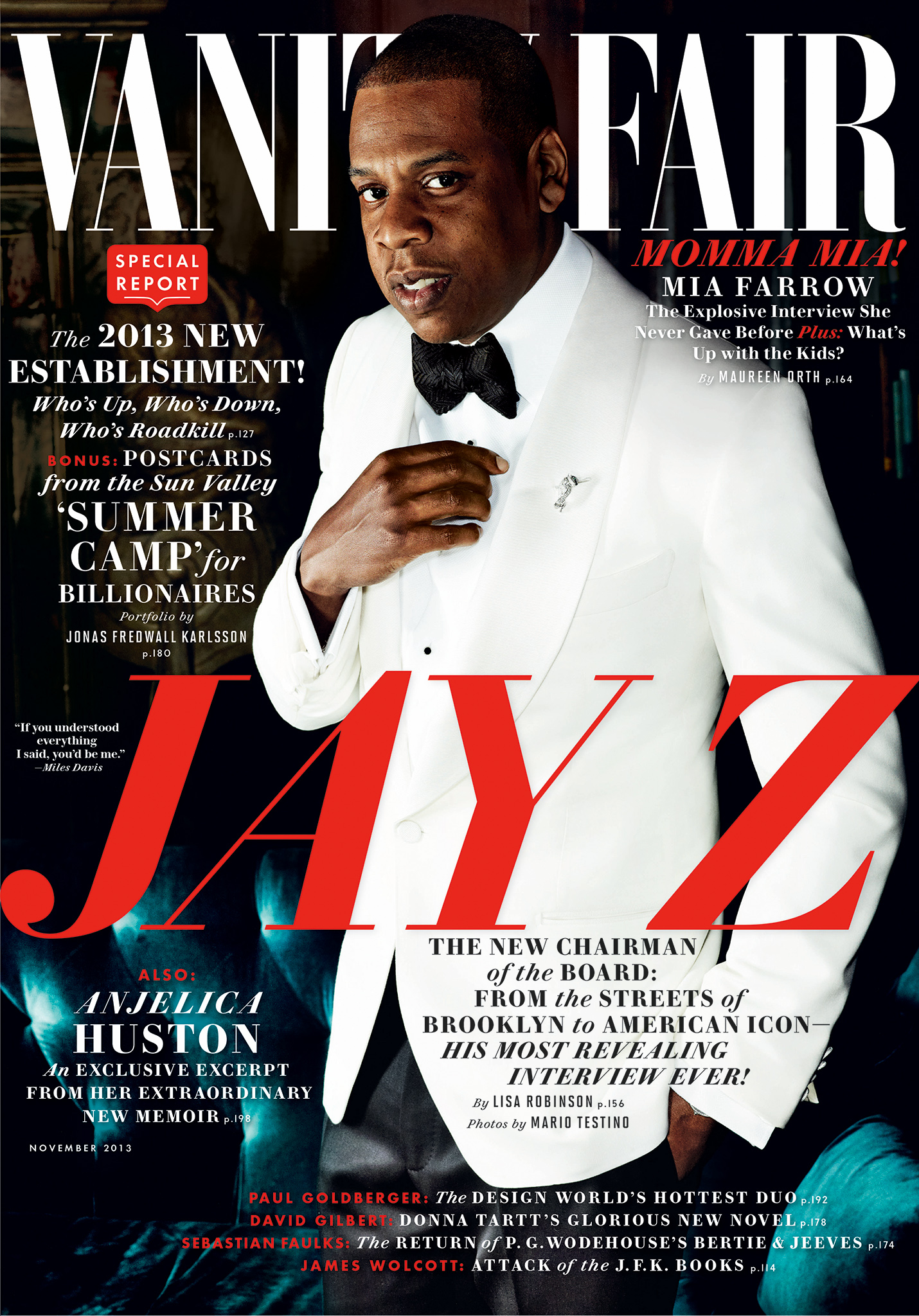 Jay Z covers Vanity Fair. (Vanity Fair)