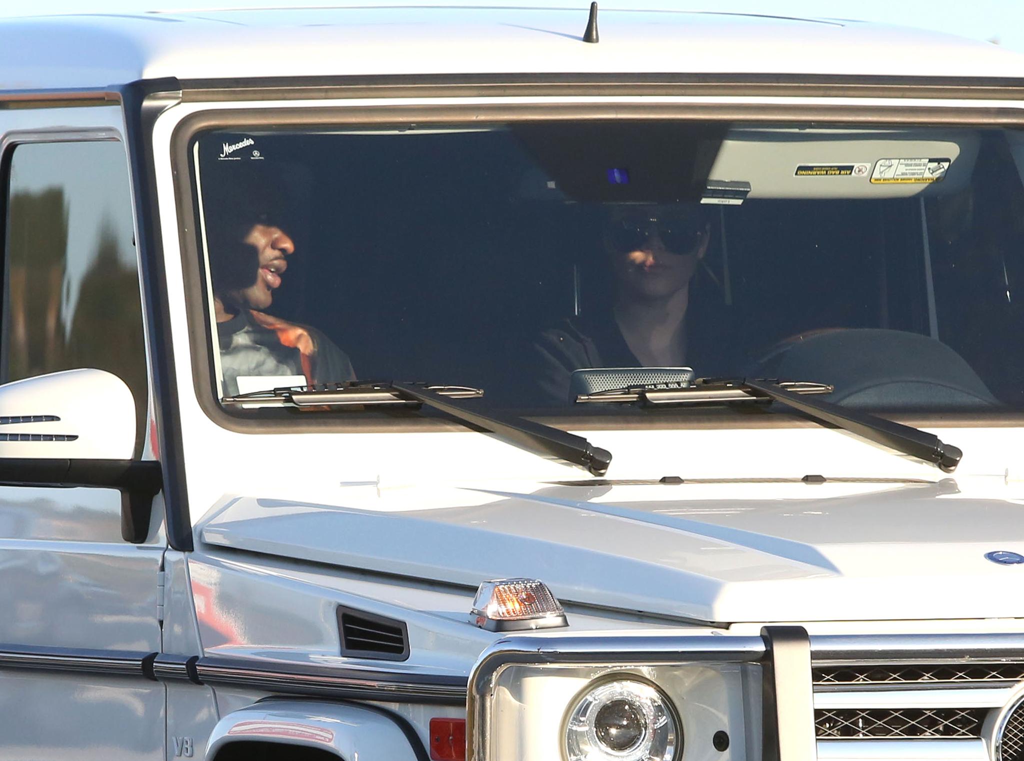 Lamar Odom and Khloe Kardashian (FameFlynet)