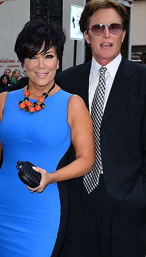 Bruce Jenner will be spending time in Malibue ... wife Kris Jenner won't be. (WireImage)