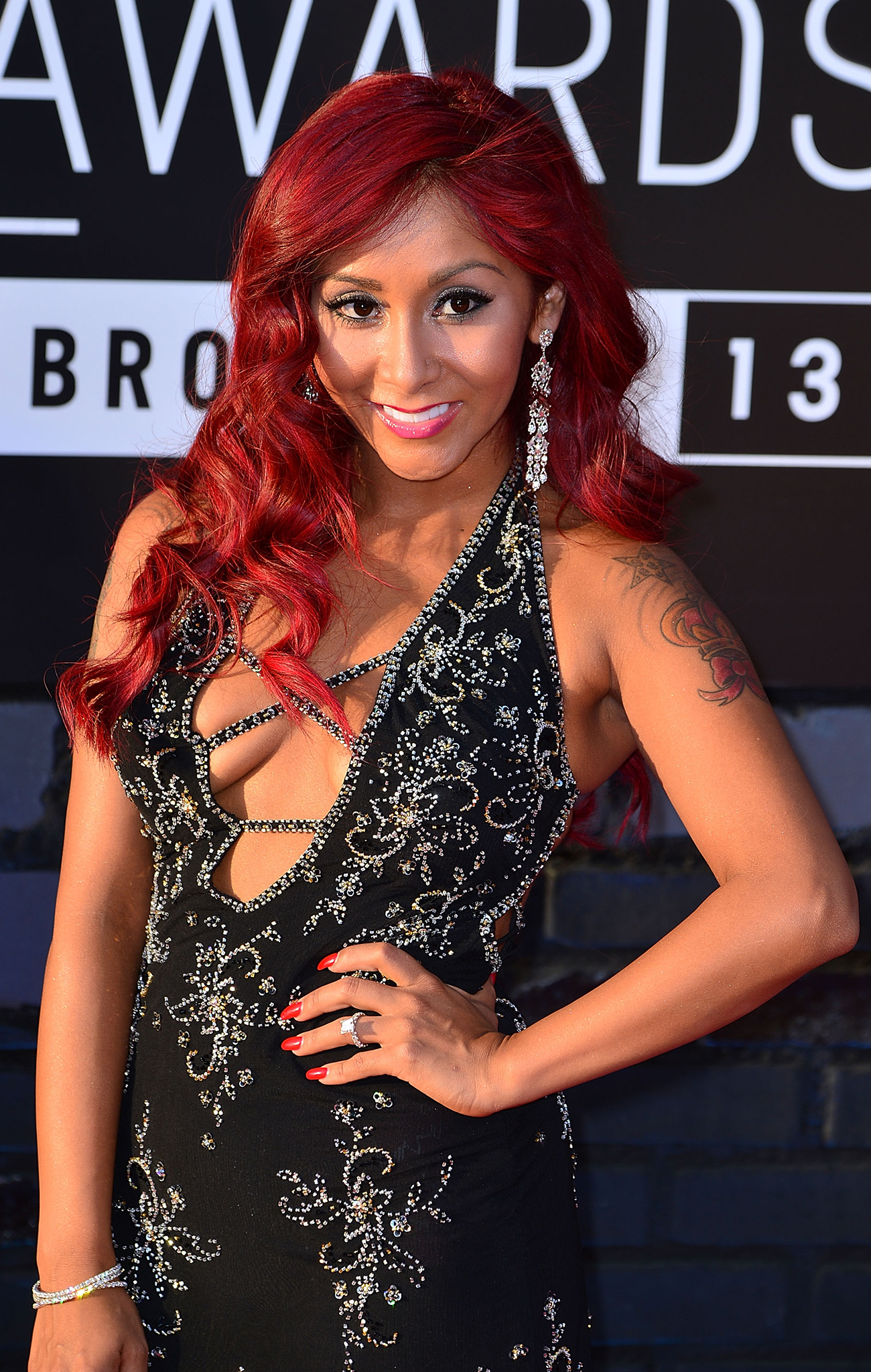Snooki only looks proud of her assets. (James Devaney/WireImage)