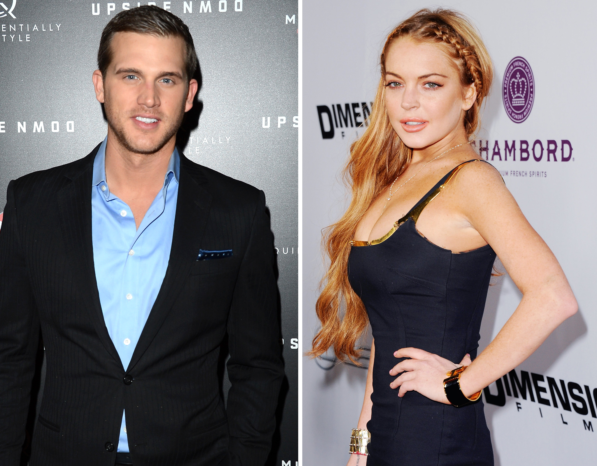 Matt Nordgren and Lindsay Lohan (FilmMagic/Getty Images)