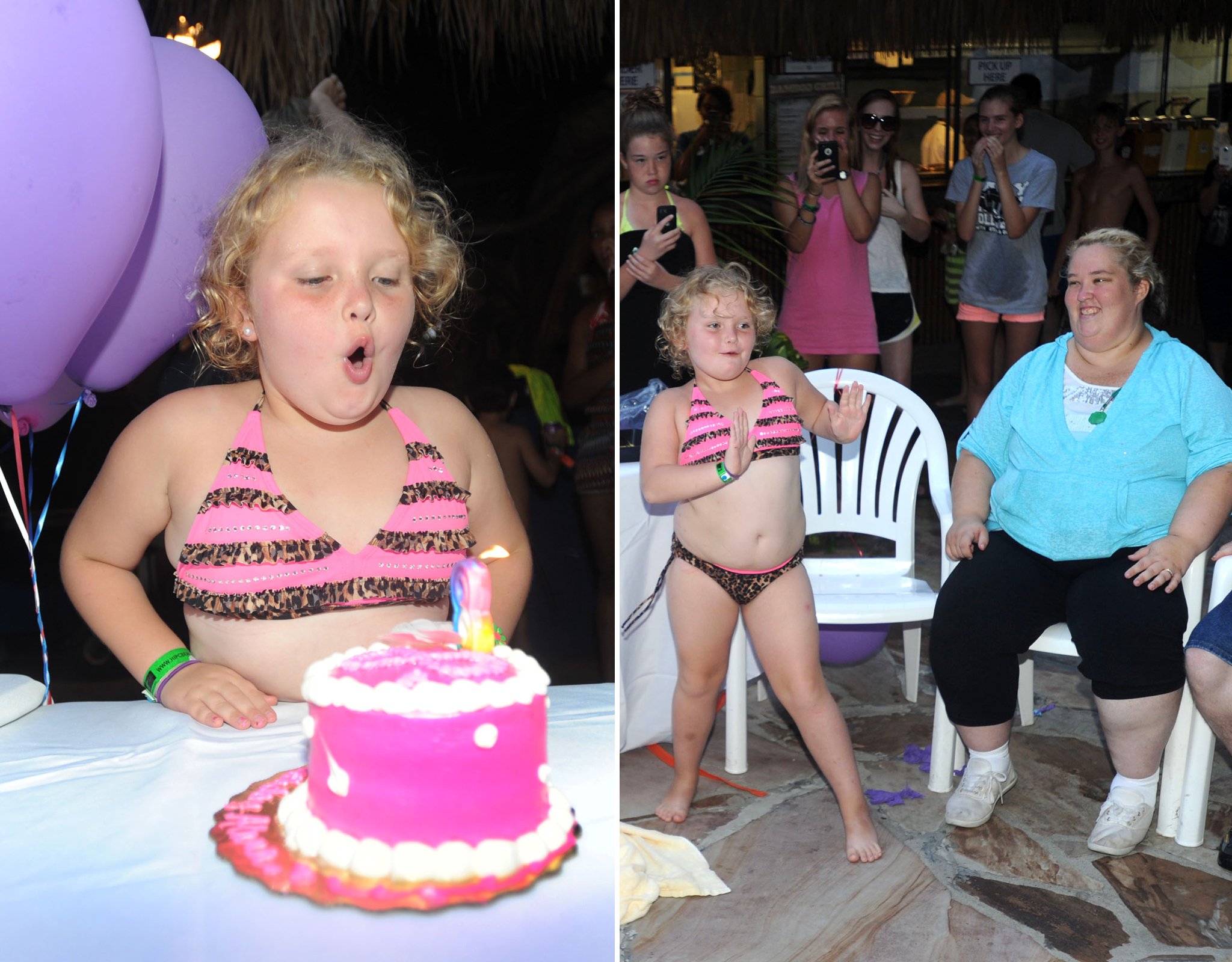 Honey Boo Boo celebrates her 8th birthday. (Splash)